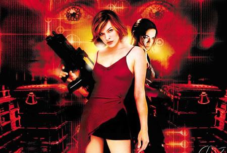 Milla jovovich resident evil 2