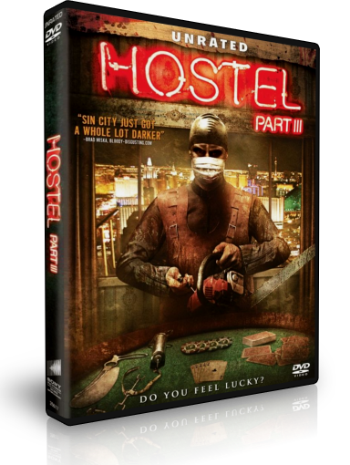 Hostel Part 3 DVD