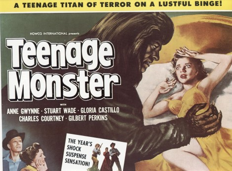 POSTER - TEENAGE MONSTER