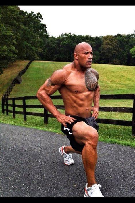 dwayne-johnson- leg workout veins muscle mass raw testosterone the rock huge steroids hgh roid rage bulk up jacked jakked swole wwe smackdown jabroni fitness Scorpion King Miami Hurricane Football Doping Dru